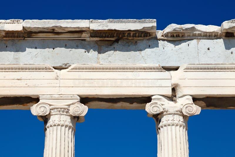 Detail of antique temple