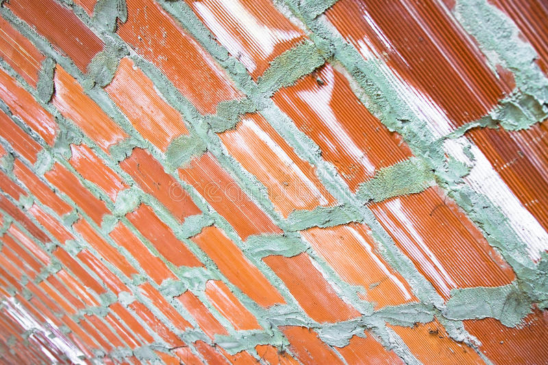Detail of a barrel vault. Of a building used as a warehouse stock image