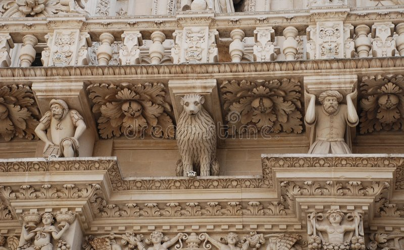 Detail, Basilica Di Santa Croce royalty-vrije stock fotografie