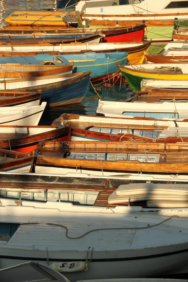 Detail of Boats royalty free stock photo