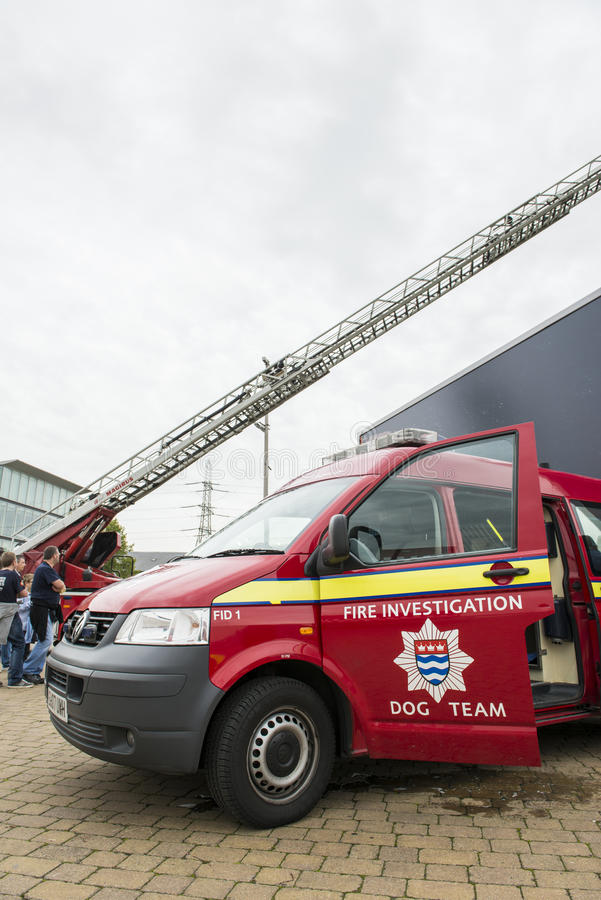 Download Detail Of British Fire Brigade Dog Team Editorial Photo - Image: 27268406