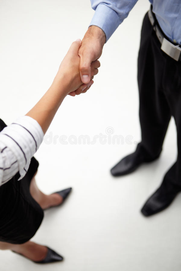 Download Detail Businessman And Woman Shaking Hands Stock Photo - Image: 20788868