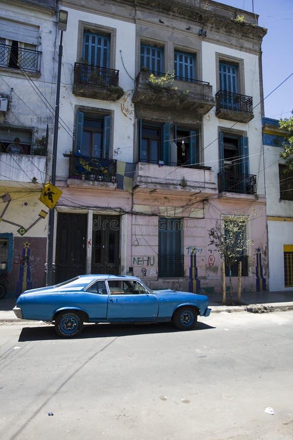 Caminito street in La Boca, Buenos Aires, Argentina stock photography