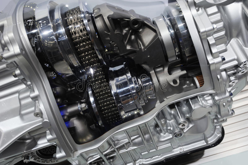 Detail of a car Transmission royalty free stock photography