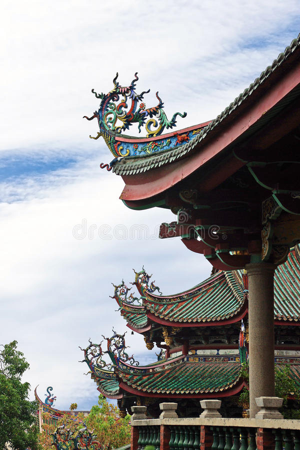 Detail about Chinese Pavilion. In Nanputuo Temple,Xiamen royalty free stock images