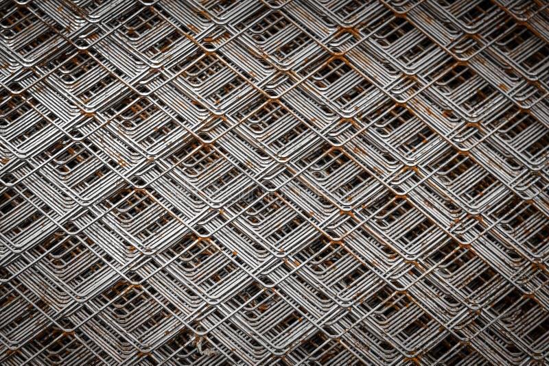 Detail Chrome-Grills 3D f?r das Errichten stockbild