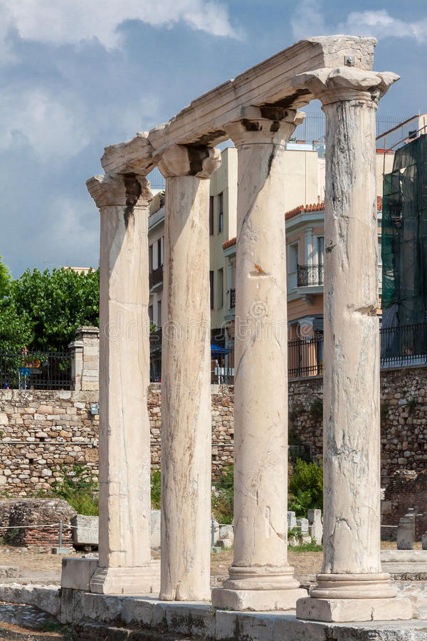 Download Hadrian Library Athens Greece Stock Photo - Image: 29827112