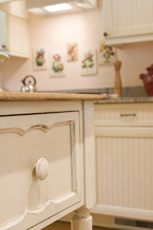 Detail of custom cabinet royalty free stock photo