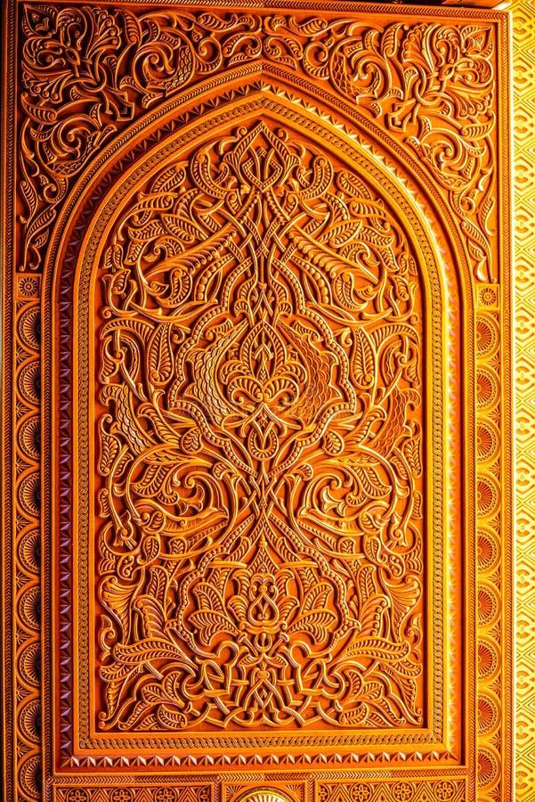Detail der architektonischen Gestaltung der großartigen Moschee Muscats - 1 lizenzfreie stockbilder