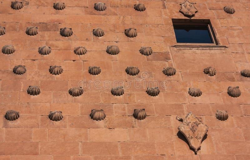 Detail in der berühmten Fassade lizenzfreie stockfotografie