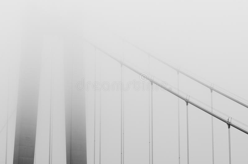 Detail der Brücke in Schweden lizenzfreies stockfoto