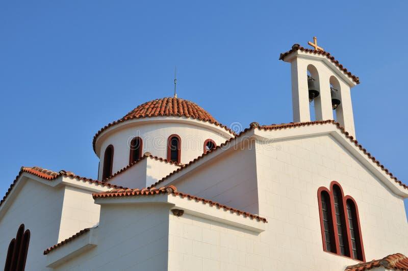 Detail der griechischen Kirche stockfotos