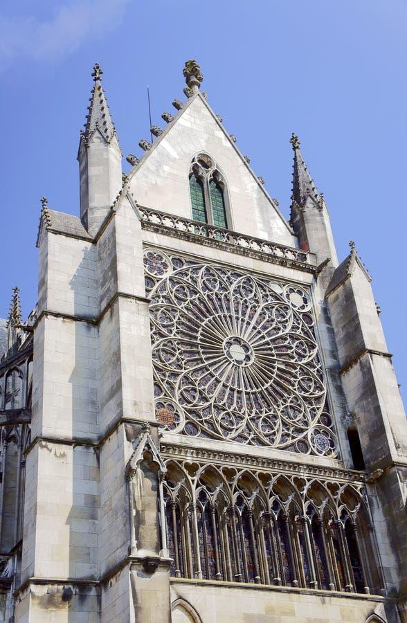 Detail der Kathedrale stockfotos