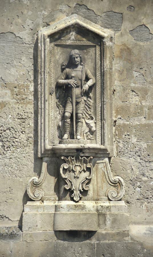Detail der Kathedrale von Matera, Italien stockfotografie