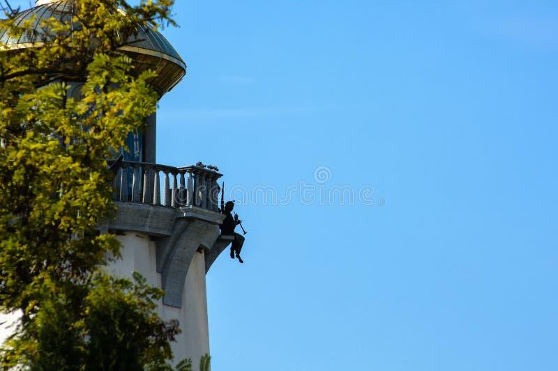 Detail der Monumentstatue stockfoto
