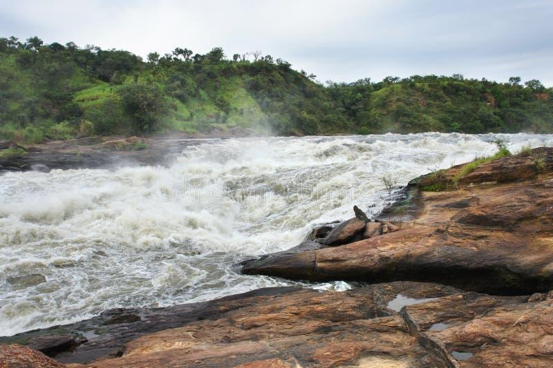 Sonderkommando des Murchison Falls lizenzfreie stockbilder