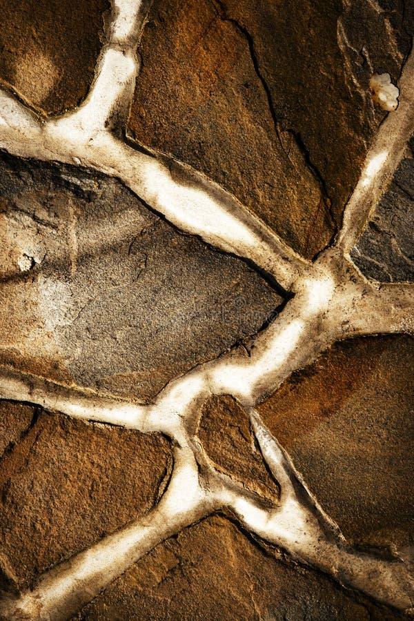 Detail der Sandsteinsteinpflasterung stockfotos