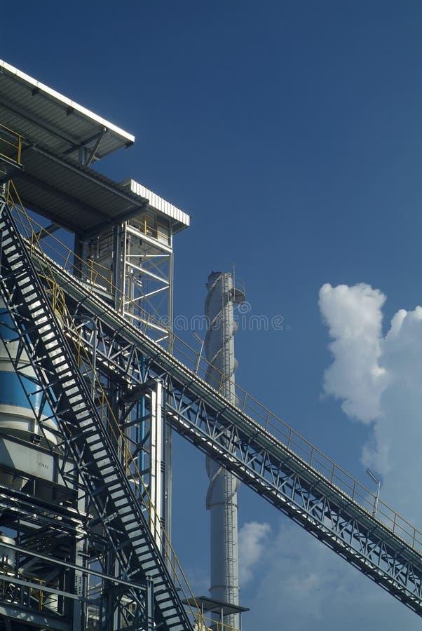 Detail der Verarbeitungsanlage stockfotografie