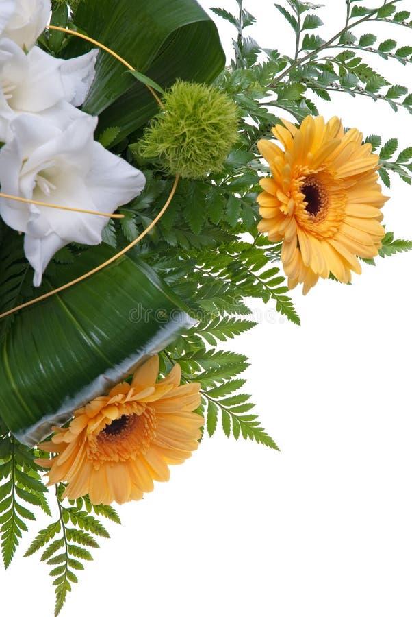 Detail des Blumenstraußes der Blumen stockbild