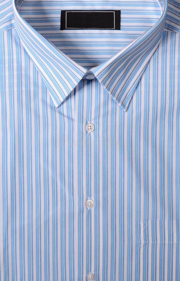 Detail des gestreiften Hemdes lizenzfreies stockbild