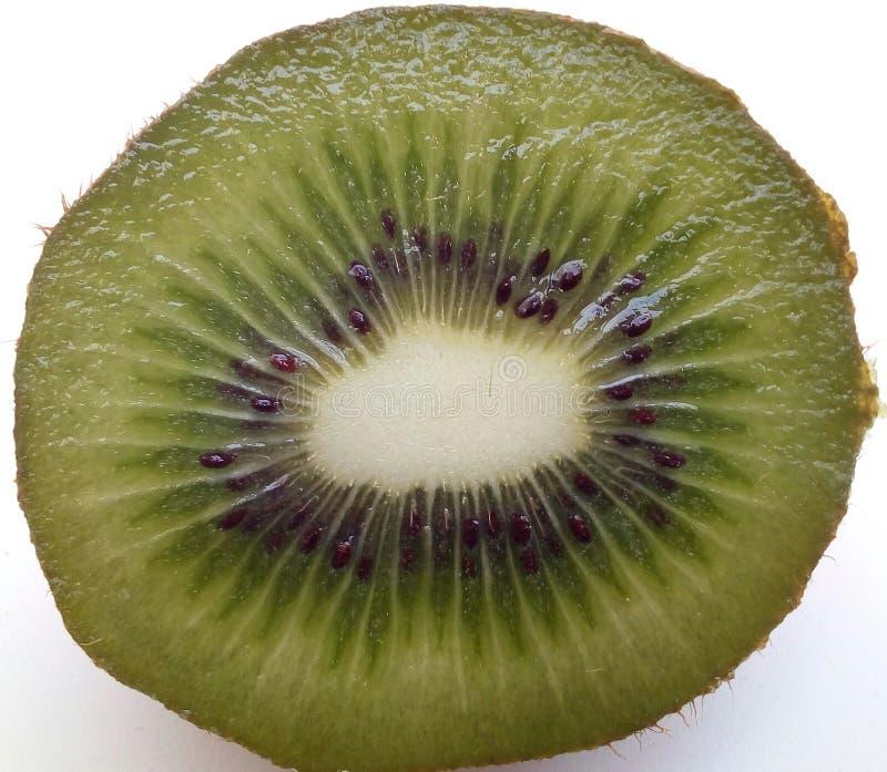Detail des Innenraums einer Kiwi lizenzfreies stockbild
