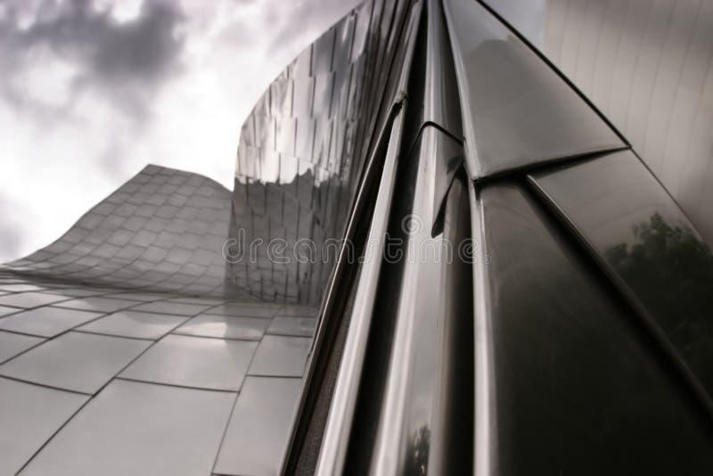 Detail des modernen Gebäudes lizenzfreie stockfotografie