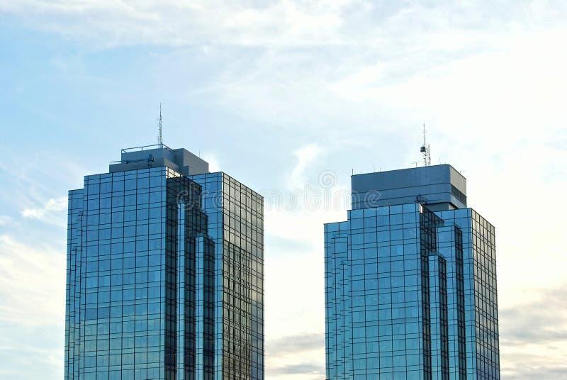Detail des modernen Gebäudes in Vancouver lizenzfreies stockbild