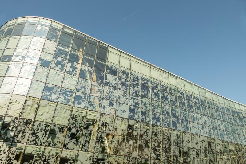 Detail des Rathauses in Alphen stockbild