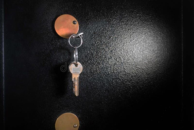 Detail des Safes lizenzfreie stockfotografie