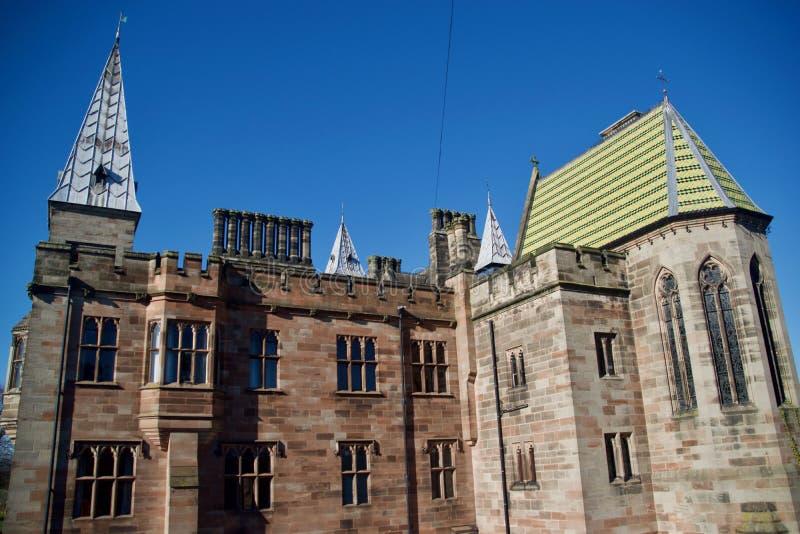 Detail des Schlosses stockfoto
