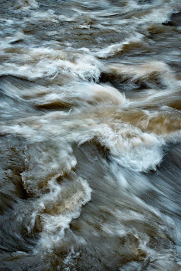 Detail des unscharfen Schmutzwassers stockbilder