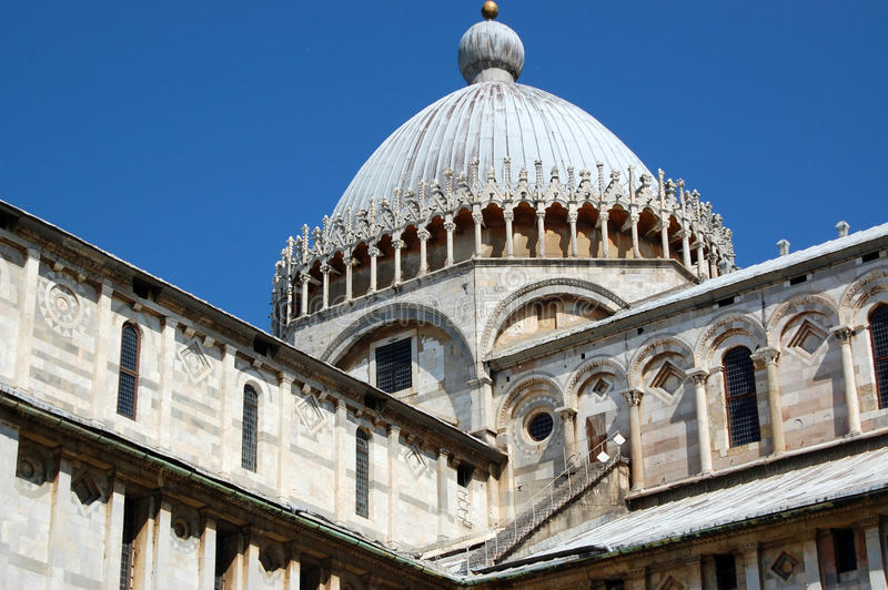 Detail of dome of Cathedral royalty free stock photos