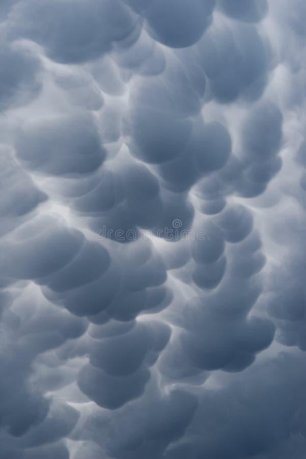 Detail einer abstrakten dunklen Wolke stockbilder