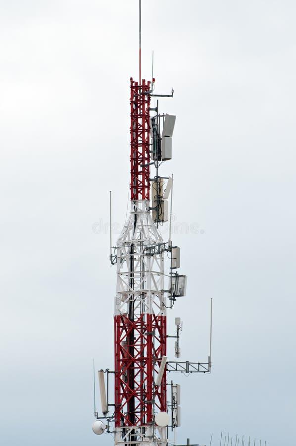 Telekommunikationsantenne lizenzfreies stockbild