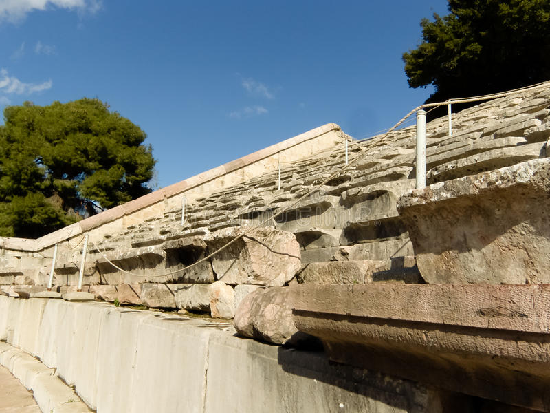 Download Detail Of Epidaurus Ancient Theater  In Greece Stock Photo - Image: 17479656