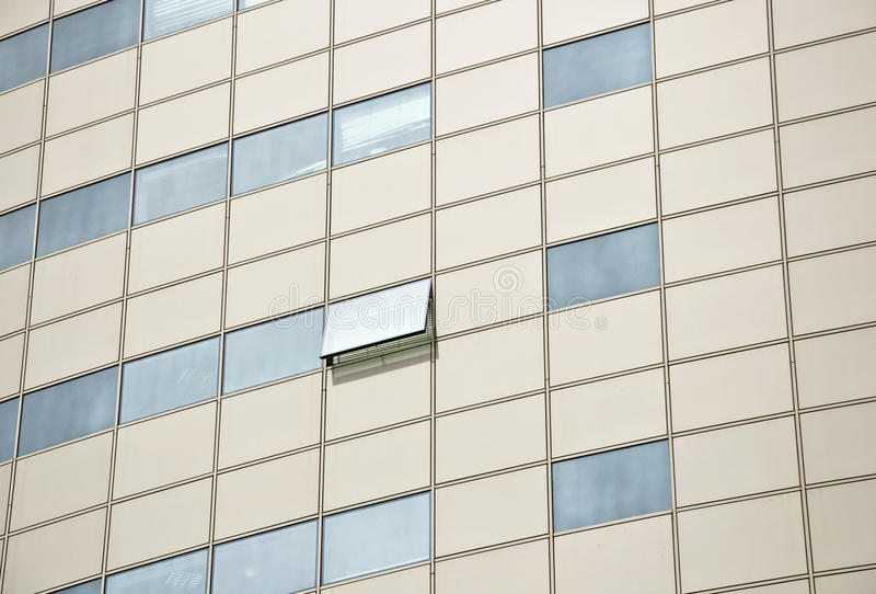 Download Detail Of The Facade Office Building. Stock Photo - Image of metal, design: 14559110
