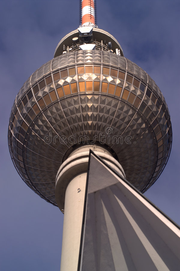 Download Detail of Fernsehturm stock image. Image of antenna, concrete - 1842347