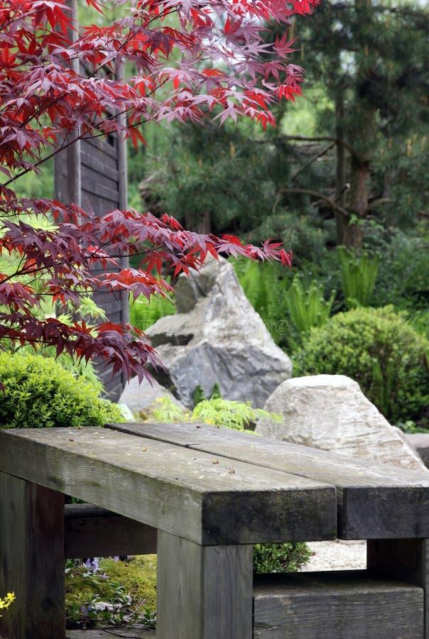 Detail Form Japan Garden Stock Photo