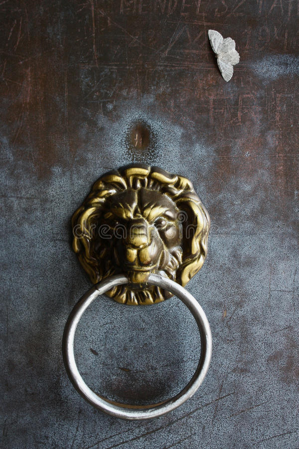 Download Detail Of German Lion Door Handle Stock Photo - Image: 11268568