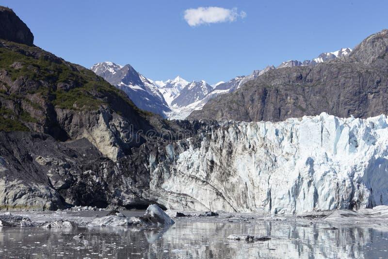 Detail Of Glacier In Glacier Bay Alaska USA stock photography