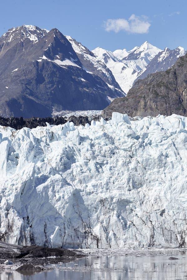 Detail Of Glacier In Glacier Bay Alaska USA royalty free stock image