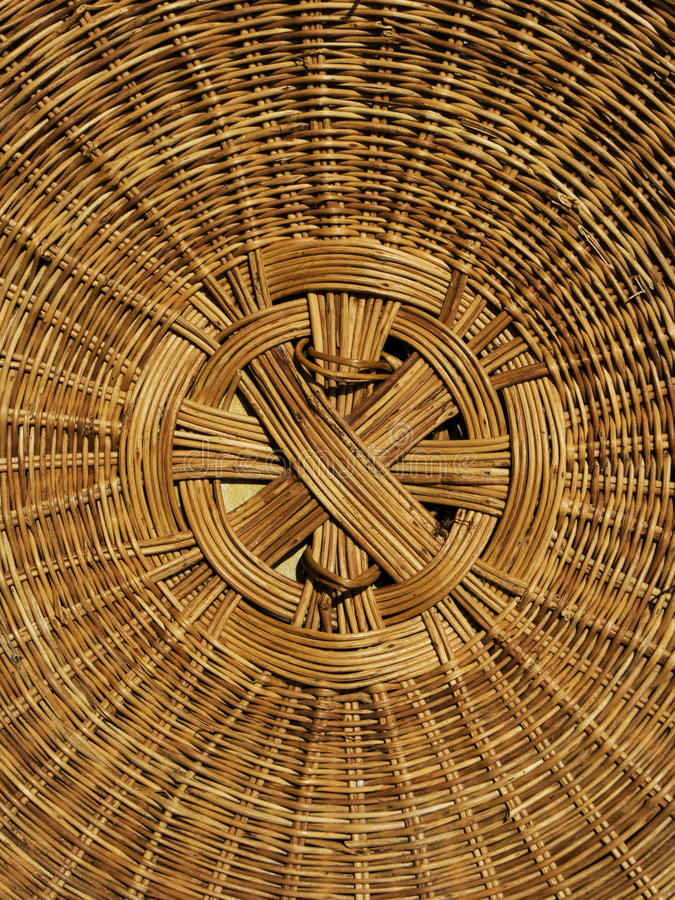 Free Detail Hand Woven Basket Cover Stock Photos - 11978043