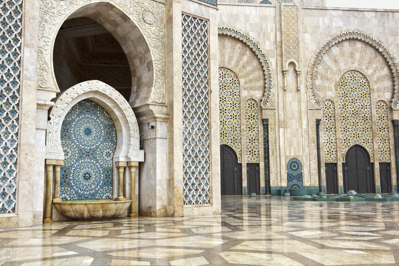 Download Detail Of Hassan II Mosque In Casablanca, Morocco Stock Photo - Image: 26045248