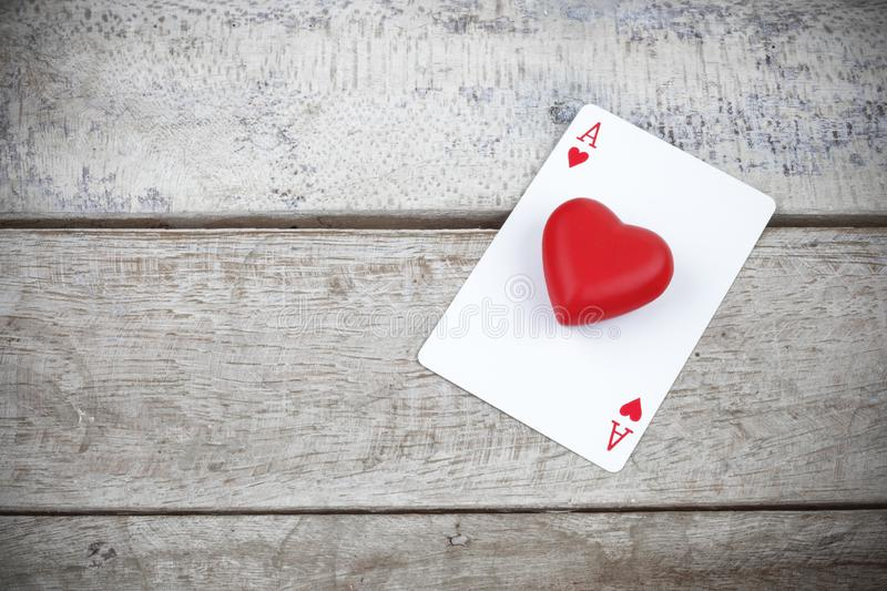 Ace Heart Poker Card Wallpaper Stock Photos Download 119 Royalty