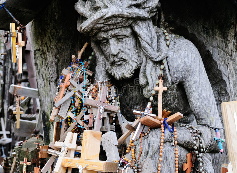 Download Detail Of The Hill Of The Crosses Stock Image - Image: 20994511