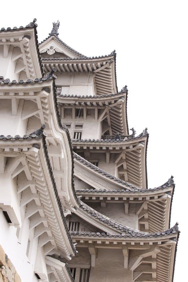 Download Detail Of Himeji Castle, Japan Stock Image - Image: 15054391