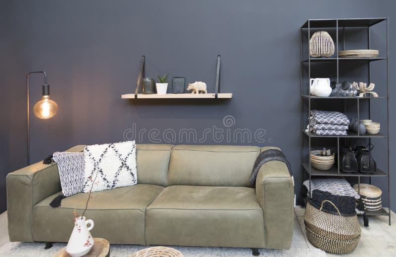 Home interior decoration stock photography