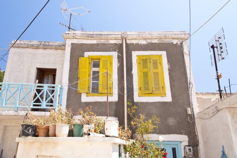 House on Samos royalty free stock photos