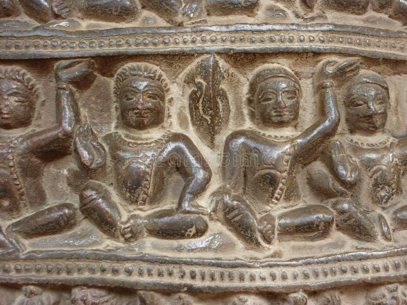 Detail, incarnatie van Vishnu als beer stock fotografie