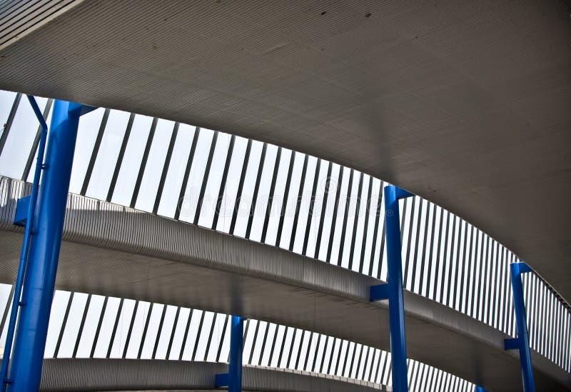 Detail innerhalb eines Trainstation lizenzfreies stockbild